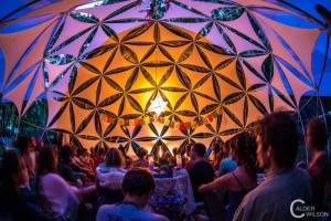 Tribal Council Dome at Aura
