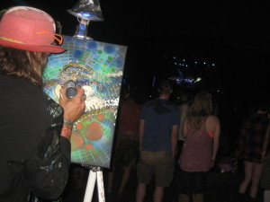 Painting at Umphrey's