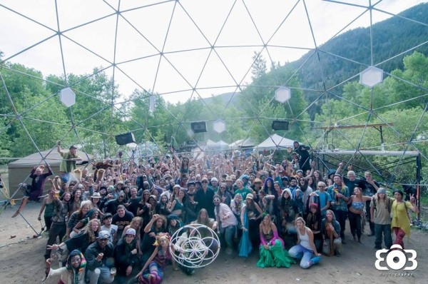 Random Rab Family Photo from Sonic Bloom sunrise 2013