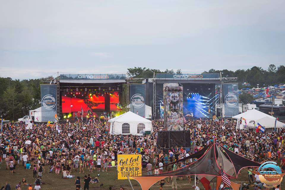 Classic Bisco Double Mainstage setup- Photo by James Coletta Photography