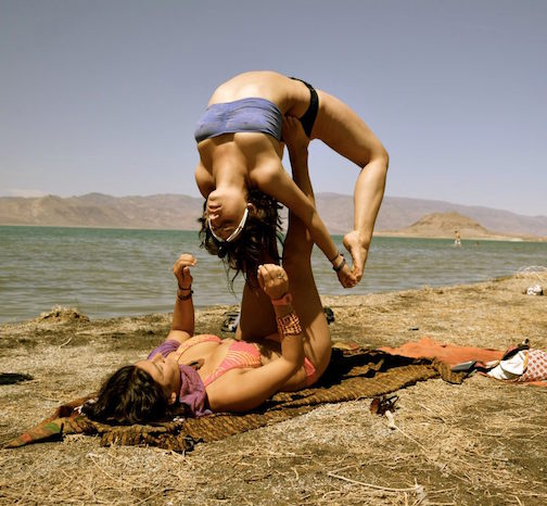 Acro Yogis sure to be spotted at Symbiosis | Photo by Jessica Dugan from Pyramid Eclipse '12