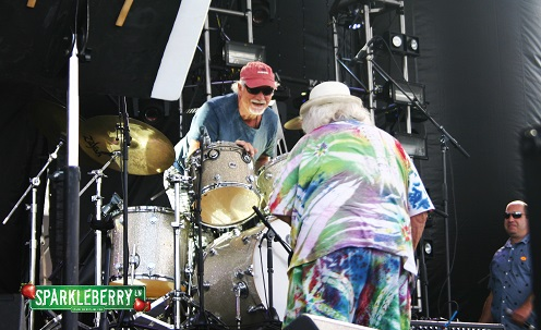 Bill Kreutzmann, Wavy Gravy and Ken Hays